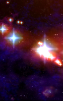 Screenshot of Cosmic Journey -Nebula LiveWP