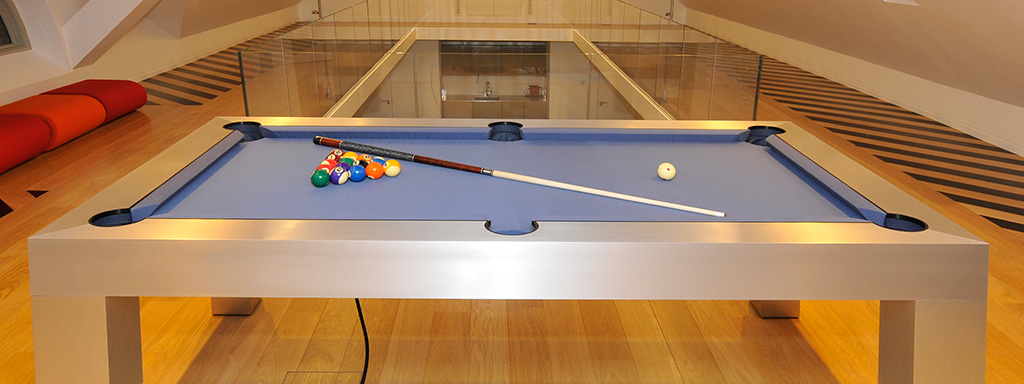 The Apex - Pneumatic Pool Table