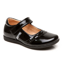 Step2wo New Hinto - Patent Hook and Loop Shoe BAR SHOES