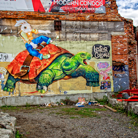 hamilton by Lennie Locken - City,  Street & Park  Street Scenes