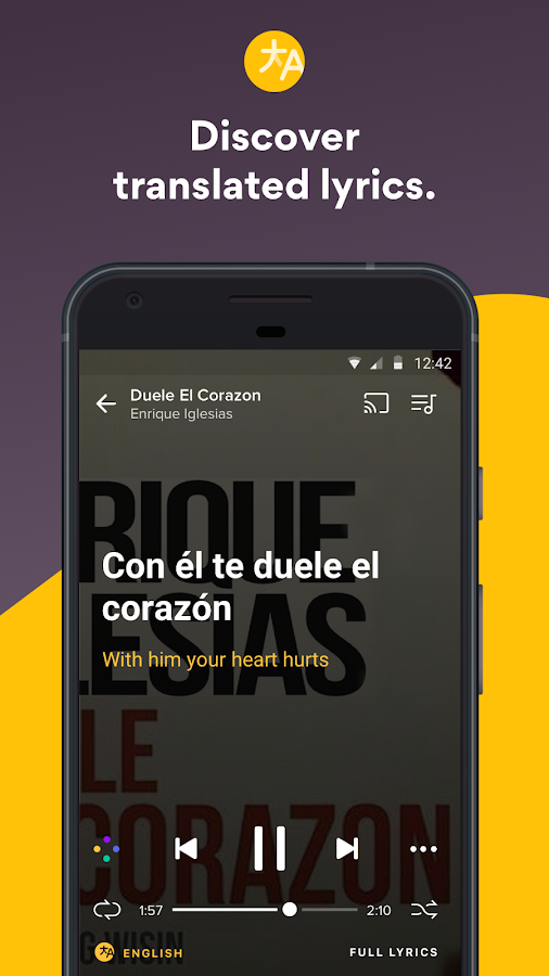 Musixmatch Lyrics Screenshot 2