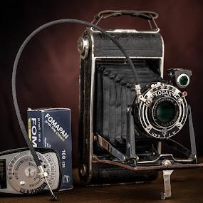 Anastigmata by Bogdan Rusu - Artistic Objects Still Life ( nostalgia, vintage, old, camera, kodak )