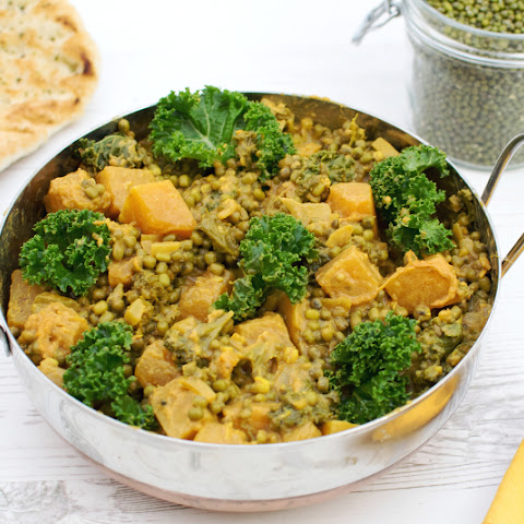 Spiced Mung Beans Winter Casserole [vegan]