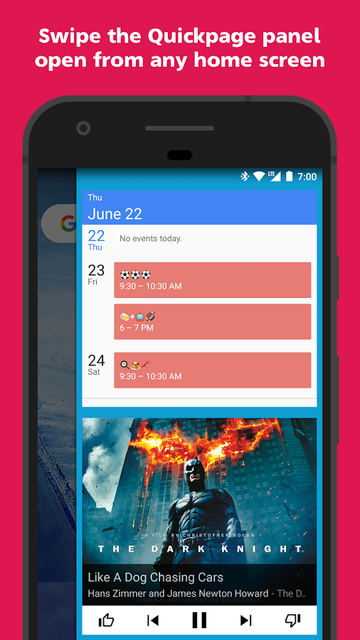 Action Launcher - Oreo + Pixel on your phone Screenshot 4