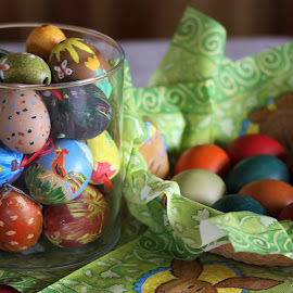 Easter at the table by Carola Mellentin - Public Holidays Easter