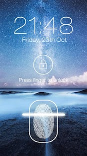 Fingerprint LockScreen Prank APK for Bluestacks