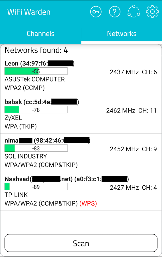 WiFi Warden ( WPS Connect ) Screenshot 1