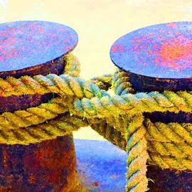 TIE ME TIGHTLY by SANGEETA MENA  - Digital Art Things