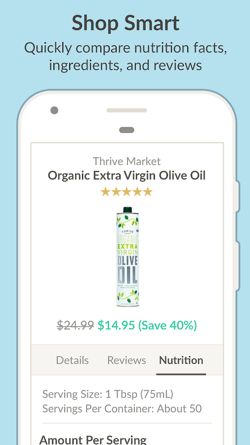 Thrive Market - Healthy Food Screenshot 3