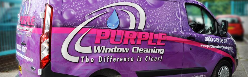 Purple Window Cleaning