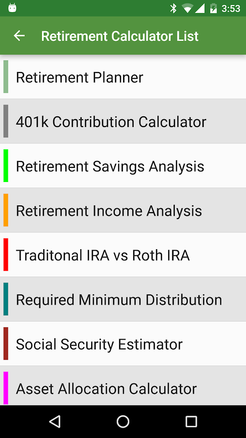 Financial Calculators Pro Screenshot 5