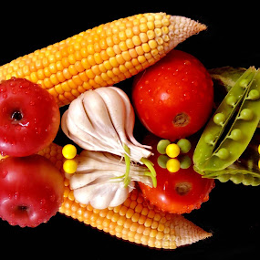 IT'S CORN TIME by SANGEETA MENA  - Food & Drink Fruits & Vegetables