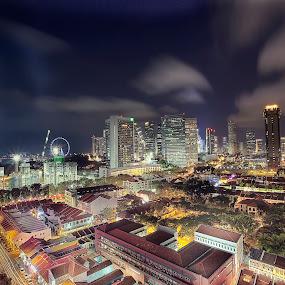 by Ian Foo - City,  Street & Park  Vistas