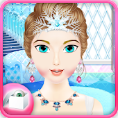 Game Ice Queen DressUp Salon APK for Windows Phone