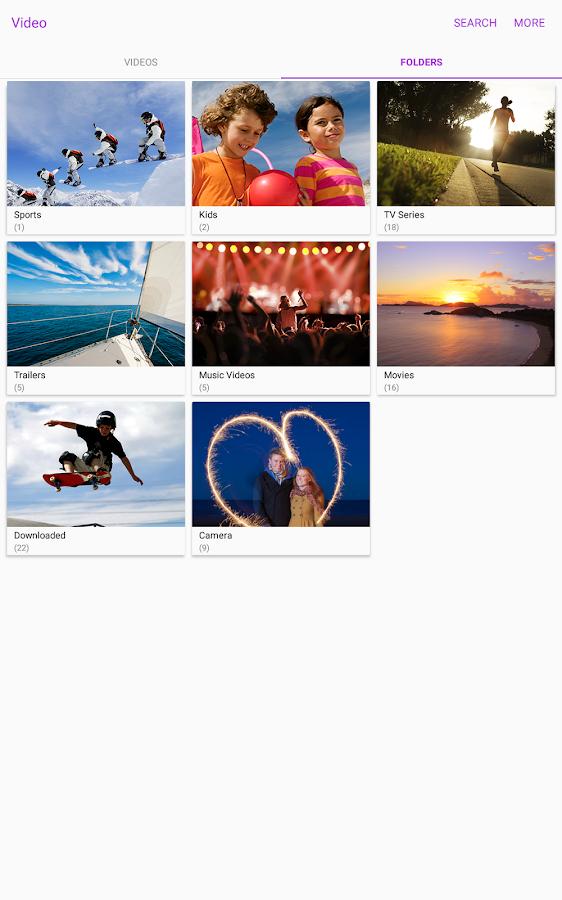 Samsung Video Library Screenshot 7