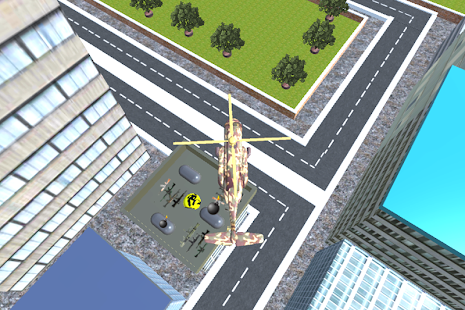 3D City Helicopter Warrior - screenshot