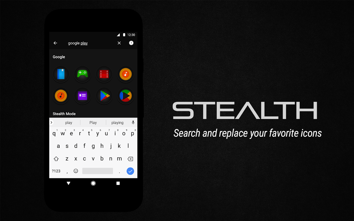 Stealth Icon Pack Screenshot 9