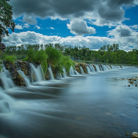 Ventas Rumba by Zigmunds Orlovskis - Landscapes Waterscapes ( waterfall, long exposure, landscape, river )