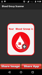 Blood Group Scanner Prank - screenshot