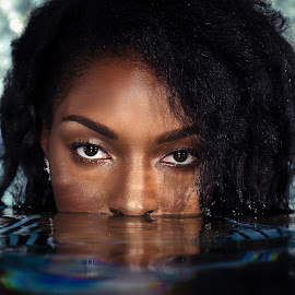 Reflections of the eyes by Patrick James - People Portraits of Women ( creativeimpress, hampton roads, creative impressions,  )