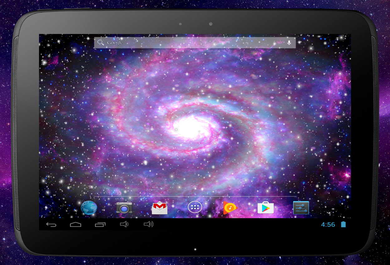 Galaxy Pro Live Wallpaper Screenshot 12