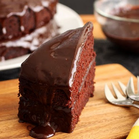 Devil's Food Chocolate Cake