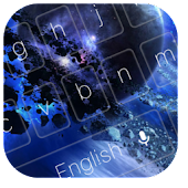 Planet Disaster Keyboard Theme APK for Bluestacks