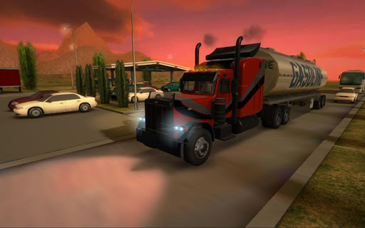 Truck Simulator 3D screenshot 1