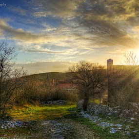 Sunset by Luka Milevoj - Landscapes Sunsets & Sunrises ( hdr, sunset, hdr landscape, landscape,  )
