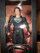 "Фигурка ""Man of Steel 1/4"" Super Man Black Suit /2шт"