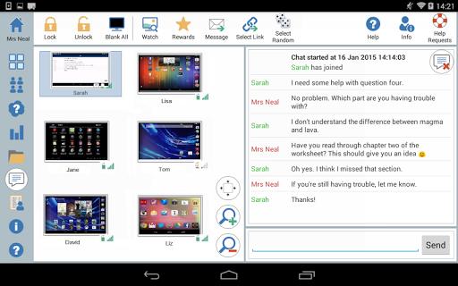 NetSupport School Tutor Screenshot