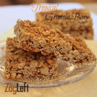 Tropical Granola Bars