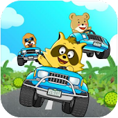 Download Raccoon Extreme Speed Car Race APK on PC