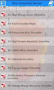 Best Smoothie Recipe - screenshot