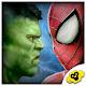 Superheros vs Robot Ring Fighting