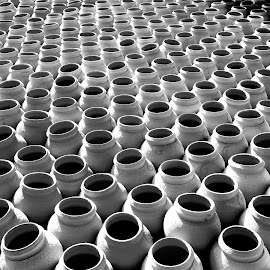 Pots by Ricardo Carvalho - Artistic Objects Other Objects ( profession, tradition, perspective, pots, culture )