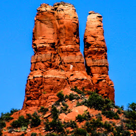 Beautiful Red Rock In Sedona, AZ, by David Walters - Landscapes Deserts ( canon, red, sandstone, rock, landscape )