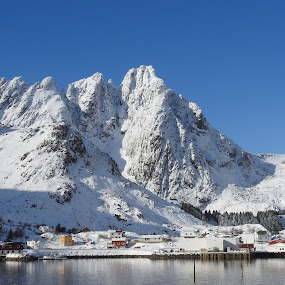 Snow Mountains by Karl-roger Johnsen - Landscapes Mountains & Hills
