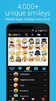 Screenshot of Emojidom: Chat Smileys & Emoji