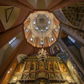 San Basilio Church by Antonello Madau - Buildings & Architecture Places of Worship