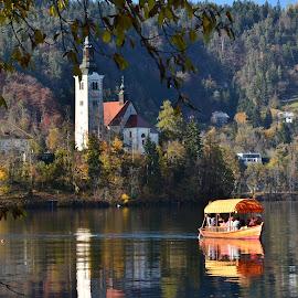 Pletna by Bojan Kolman - Transportation Boats