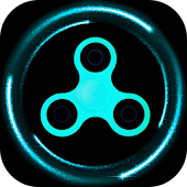 Fidget spinner simulator Icon