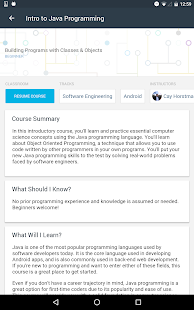 Udacity - Learn Programming Screenshot