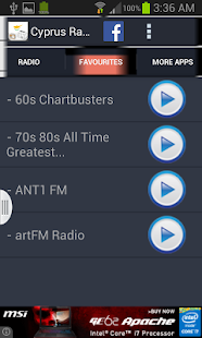 Cyprus Radio News - screenshot