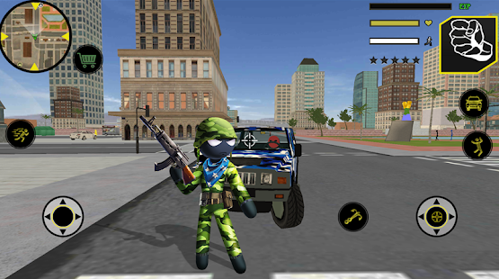 US Army Counter Stickman Rope Hero Crime OffRoad for pc