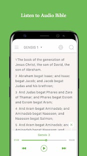 Bible - King James Bible, Audio Bible, Daily Verse