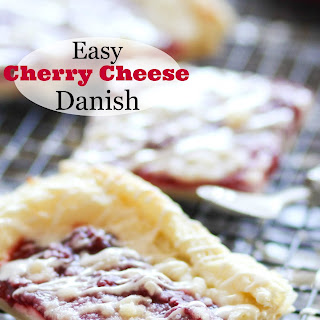 Cherry Cheese Danish Bars
