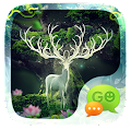 GO SMS PRO FOREST THEME APK for Bluestacks