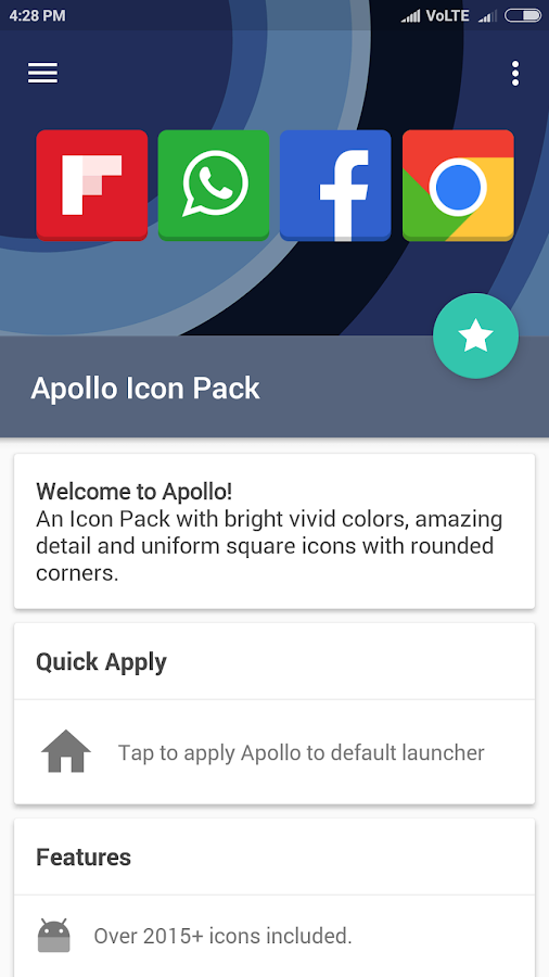Apollo Icon Pack Screenshot 6