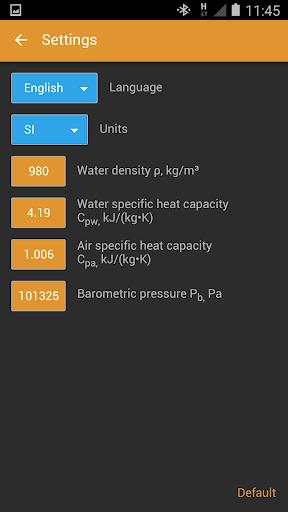 HVAC Calculator Pro - screenshot